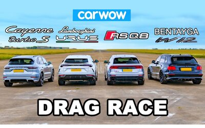 RS Q8, Cayenne Turbo S, Bentayga a Urus. Které koncernové SUV je nejrychlejší?