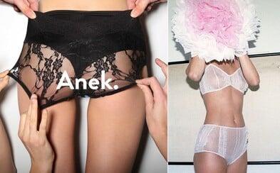 Ručně vyráběné švédské prádlo Anekdot s vintage nádechem, které při své výrobě šetří planetu