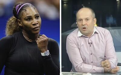 Rumunský moderátor přirovnal Serenu Williams k opicím s červeným zadkem. Dostal pokutu za rasismus