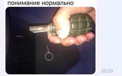 Rus si chtěl udělat selfie s granátem, ale předtím ho odjistil. Budoucí vítěz Darwinovy ceny chtěl fotku poslat kamarádům