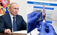 Ruská vakcína je prý účinná na 92 %. Zpráva přichází dva dny poté, co americko-německý projekt oznámil 90% účinnost