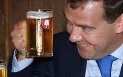 Ruské ministerstvo chce pivo klasifikovat jako nealkoholický nápoj