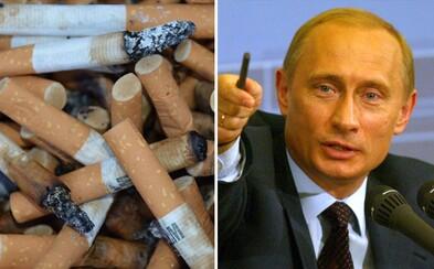 Rusko chce zakázat kouření cigaret každému obyvateli narozenému po roce 2015. Návrh prý podporuje i Vladimir Putin