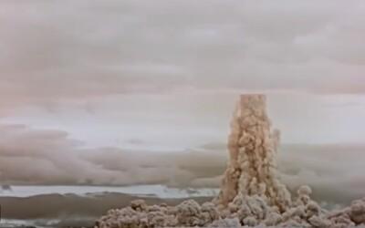 Rusko odtajnilo video z masívnej jadrovej skúšky. Takto vyzeral výbuch najväčšej bomby sveta TSAR