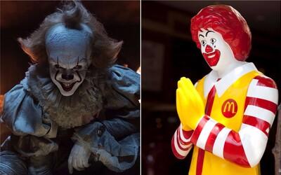 Ruský Burger King chce zakázať horor It, pretože Pennywise vyzerá ako maskot konkurenčného McDonald's