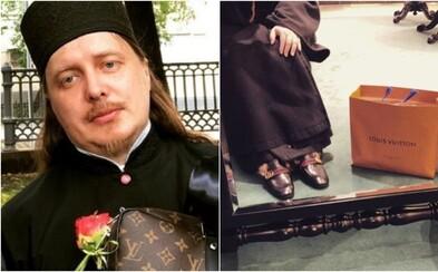 Ruský pravoslavný kněz se na Instagramu chlubil sbírkou Gucci a Louis Vuitton. Teď čelí problémům