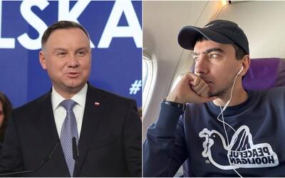 Ruský youtuber vyprankoval polského prezidenta Andrzeje Dudu. Předstíral, že je generální tajemník OSN