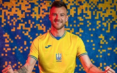 """Rusov """"vytočili"""" ukrajinské dresy na Euro 2021. Je na nich mapa Ukrajiny aj s anektovaným Krymom"""