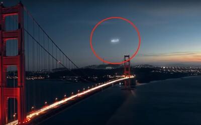 Rusové navrhli reklamu na oběžné dráze. Gigantický billboard by nám v noci svítil nad hlavami