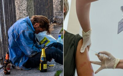Rusové se po očkování vakcínou proti koronaviru nesmí opít celých 42 dní. Alkohol by jim mohl narušit tvorbu imunity