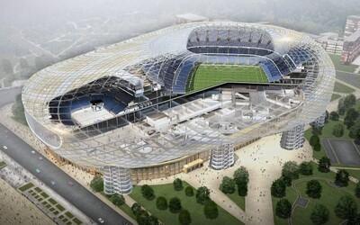 Rusové se pyšní novým fotbalovým i hokejovým stadionem v jednom. Stál více než 30 miliard korun