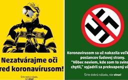 Ružinov svojimi grafikami na propagáciu testovania konkuruje aj najlepším slovenským meme stránkam