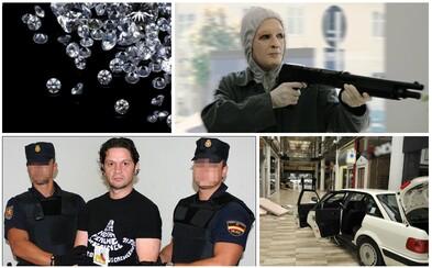 Růžoví panteři: zloději diamantů s lupem v hodnotě půl miliardy eur, kteří operují jako vojáci a ničeho se nezaleknou