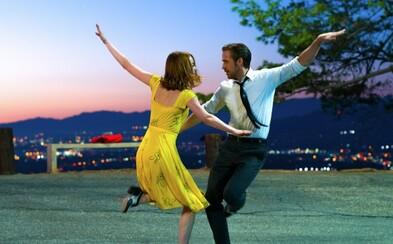 Ryan Gosling a Emma Stone žiaria v debutovom traileri pre muzikál La La Land od režiséra Whiplash