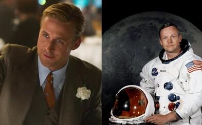Ryan Gosling a režisér Whiplash či La La Land prinesú biografický film o Neilovi Armstrongovi
