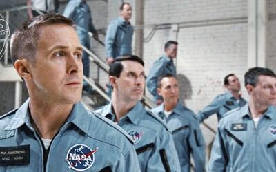Ryan Gosling je Neil Armstrong. Užite si prvé fotografie z napínavej biografie o prvom mužovi na Mesiaci od režiséra La la Landu a Whiplash