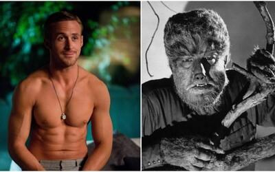 Ryan Gosling si zahrá Vlkolaka v novom horore od Universalu. Začína sa tvoriť prepojený filmový svet monštier ako v Marveli?