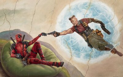 Ryan Reynolds si neodpustil vtip na adresu miliardového obchodu Disney a 21st Century Fox. Zároveň nás ďalším obrázkom láka na Deadpoola 2