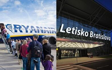 Ryanair ohlásil nové lety zo Slovenska. Z Bratislavy sa do ďalších skvelých destinácií dostaneme len za pár eur