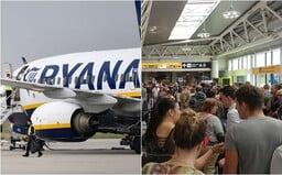 Ryanair ohlásil výpadek systému. V Evropě se opozdily lety až o 12 hodin a cestující seděli na zemi