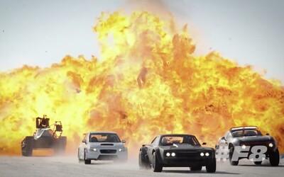 Rýchlo a zbesilo 8 sa práve natáča na Islande. Sledujte šialené zábery nadupaných áut
