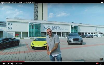 Rytmus v nových Rapíkoch strieda jedno Lamborghini za druhým a flowuje ako pán na skladbe Oni chcú ma mať
