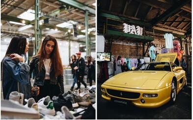 S FASHION DEALã sme sa navždy rozlúčili v pražskej Továrni. Nechýbali drahé handry, umenie, tenisky ani kvalitná hudba (Fotoreport)