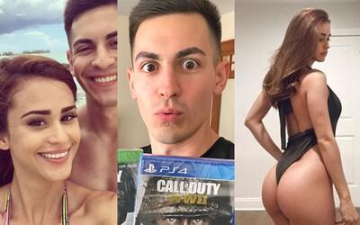 S najsexi rosničkou sa v skutočnosti nerozišiel kvôli Call of Duty. Yanet zachutili jeho peniaze, tak vzťah ukončil