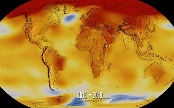 S naší planetou je to stále horší. Rok 2019 byl druhým nejteplejším v historii měření na Zemi