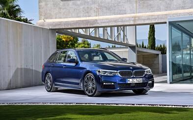 S príchodom nového BMW radu 5 na trh spoznávame aj praktický Touring s rekordne veľkým kufrom