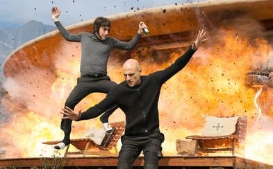 Sacha Baron Cohen je oficiálne idiot v novom traileri na The Brothers Grimsby