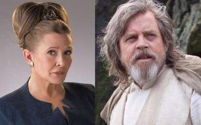 Sága o Skywalkerovcoch sa v Star Wars IX uzavrie s Lukeom aj Leiou. Použijú sa archívne zábery