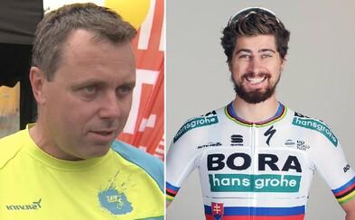 Sagan jazdí ako prasa, tvrdí bývalý český cyklista