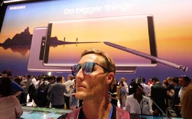 Sajfa bol pracovne v New Yorku, kde ho čakal Galaxy Note8. Nový smartfón od Samsungu si nevie vynachváliť