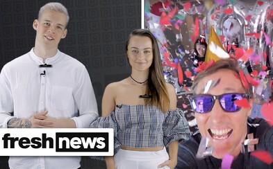 Sajfa oslávil 200. vlog a na Slovensku sa objavil nový rapový talent (Freshnews)