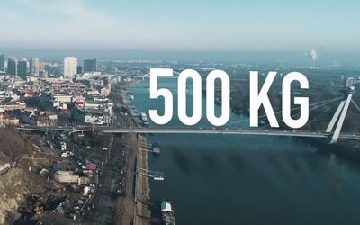 Sajfa sa už do výzvy zapojil. Dokáže Bratislava do júna zhodiť 500 kg tuku?