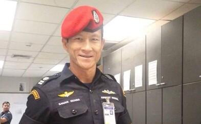 Saman Gunan: Hrdina, který skonal během mise na záchranu chlapců ze zatopeného jeskynního komplexu