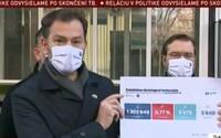 Samosprávy na Slovensku v sobotu otestovaly přes 1 300 000 lidí, pozitivních případů bylo necelých 10 000
