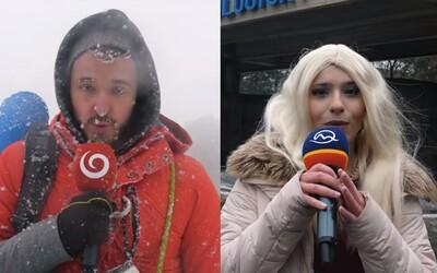 Samovrah aj celebritná manželka. Vtipný skeč paroduje redaktorov slovenských televízií a uťahuje si aj zo známych tvárí
