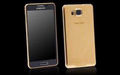 Samsung Galaxy Alpha zo zlata - keď už obyčajný nestačí