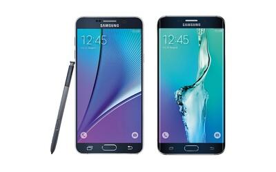 Samsung Galaxy Note 5 a Galaxy S6 Edge Plus přijdou už brzy. Unikly oficiální fotografie