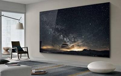 Samsung představil 556centimetrovou televizi