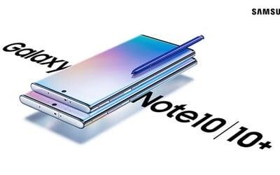 Samsung představil nové vlajkové lodě: Galaxy Note 10 a 10+