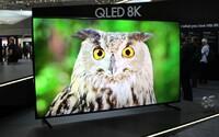 Samsung představil první 8K televizor. I tu nejlevnější 65palcovou verzi si však bude moct dovolit jen málokdo