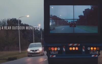 Samsung to s obrazovkami na kamiónoch myslí skutočne vážne. Začína ich testovať v Argentíne