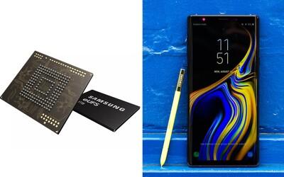 Samsung vyvíjí úložiště pro telefony o kapacitě 1 terabytu