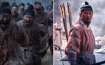 Samurajové čelí krvelačným zombies. Brutální trailer láká na 2. sérii vynikajícího hororového seriálu Kingdom