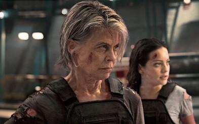 Sarah Connor túži po smrti Arnoldovho Terminátora a opäť zachraňuje svet. Čo ešte odhalil trailer pre Dark Fate?