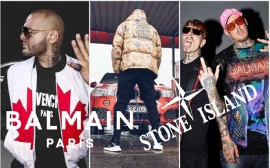 Šatník za 2,5 milionu korun. Kteří čeští a slovenští rapeři utrácejí za oblečení nejvíce peněz?