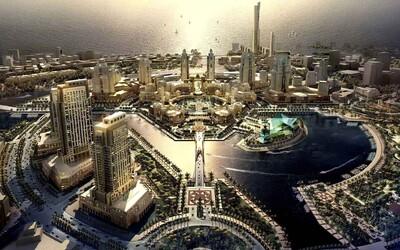 Saúdská Arábie staví megalomanské pouštní město, které bude stát 92 miliard eur!